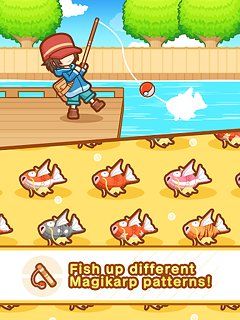 Pokémon: Magikarp Jump - snímek obrazovky