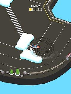 Snow Drift - snímek obrazovky