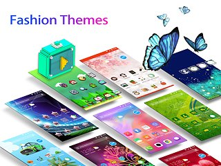APUS Launcher - Theme, Wallpaper, Hide Apps, Smart - snímek obrazovky