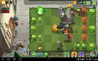 Plants vs. Zombies 2 - snímek obrazovky
