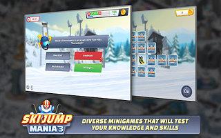 Ski Jump Mania 3 - snímek obrazovky