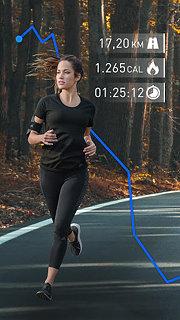 Runtastic Running App & Mileage Tracker - snímek obrazovky