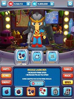 Bloons Supermonkey 2 - snímek obrazovky