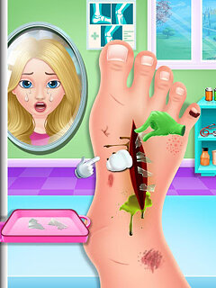 Nail & Foot doctor - Knee replacement surgery - snímek obrazovky