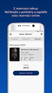 CineStar - snímek obrazovky