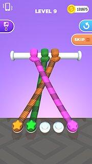 Tangle Master 3D - snímek obrazovky