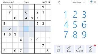 Sudoku - Free Classic Sudoku Puzzles - snímek obrazovky