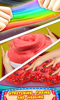 DIY Slime Maker Game! Fluffy Squishy Stretchy ASMR - snímek obrazovky