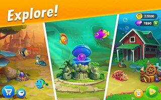 Fishdom - snímek obrazovky