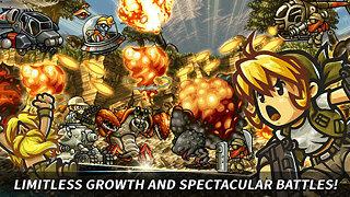 Metal Slug Infinity: Idle Tap Game & Retro 2D RPG - snímek obrazovky