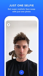 Doublicat: Face Swap app - snímek obrazovky