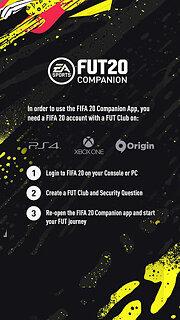 EA SPORTS™ FIFA 20 Companion - snímek obrazovky