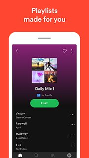 Spotify: Free Music and Podcasts Streaming - snímek obrazovky