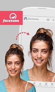Facetune - snímek obrazovky