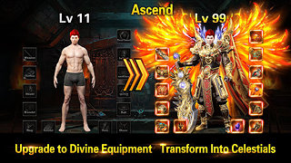 Legend of Blades - snímek obrazovky