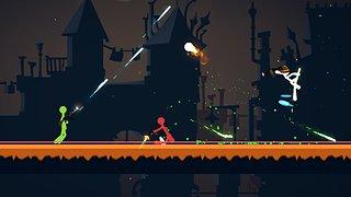 Stickfight Infinity - snímek obrazovky