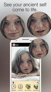 Oldify - Old Aging Booth App - snímek obrazovky