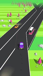 Traffic Run! - snímek obrazovky