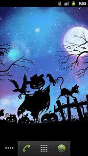 Beautiful NightFall Live Wallpaper - snímek obrazovky