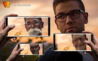 Make Me Old App: Face Aging Effect Photo Editor - snímek obrazovky