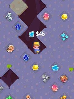 Dig Master - snímek obrazovky