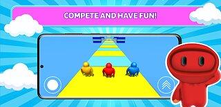 Run boys - try not to fall, guys! - snímek obrazovky