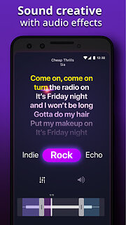 Karaoke - Sing Songs - snímek obrazovky