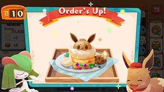 Pokémon Café Mix - snímek obrazovky