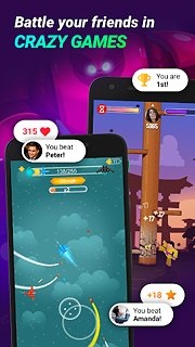 GAMEE - Play games with your friends - snímek obrazovky