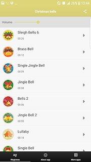 Christmas Bells - snímek obrazovky
