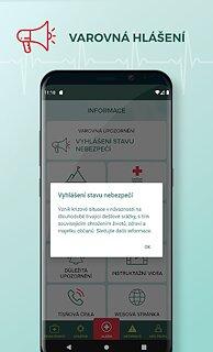 Záchranka - snímek obrazovky