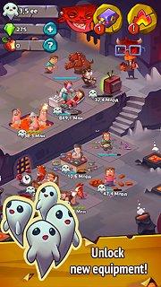 Idle Evil Clicker - snímek obrazovky