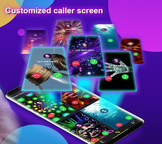 Phone Color Screen - Colorful Call Flash Themes - snímek obrazovky
