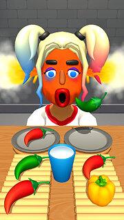 Extra Hot Chili 3D - snímek obrazovky