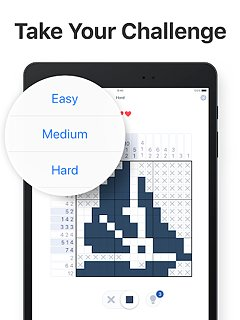 Nonogram.com - Picture cross puzzle game - snímek obrazovky