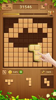Wood Block Puzzle - Free Classic Block Puzzle Game - snímek obrazovky