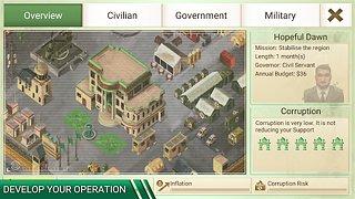 Rebel Inc. - snímek obrazovky