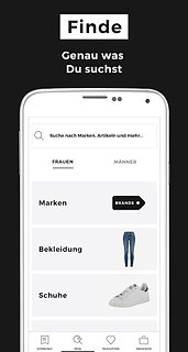 ABOUT YOU Mode Online Shop - snímek obrazovky