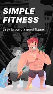 Simple Fitness - snímek obrazovky