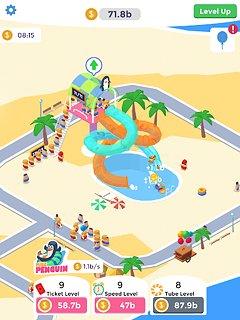 Idle Aqua Park - snímek obrazovky