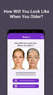 Testfoni - snímek obrazovky
