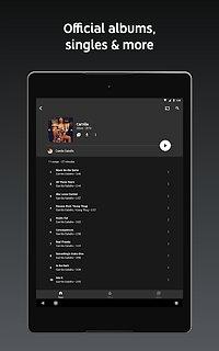 YouTube Music - Stream Songs & Music Videos - snímek obrazovky