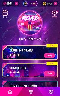 Dancing Road: Color Ball Run! - snímek obrazovky