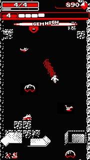 Downwell - snímek obrazovky