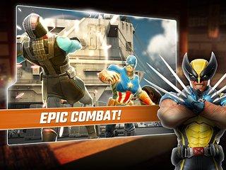 MARVEL Strike Force - snímek obrazovky