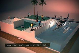 Hitman GO - snímek obrazovky