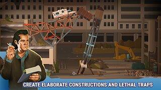 Bridge Constructor: The Walking Dead - snímek obrazovky
