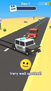 Let's Be Cops 3D - snímek obrazovky
