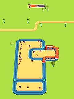 Train Taxi - snímek obrazovky