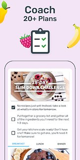 YAZIO Calorie Counter, Nutrition Diary & Diet Plan - snímek obrazovky